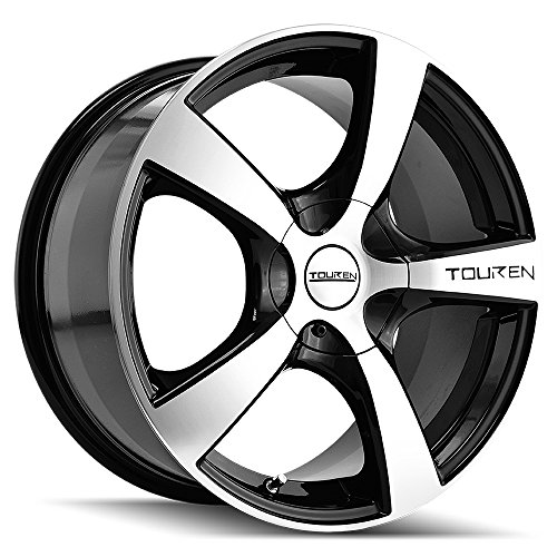 Touren TR9 3190 Black Wheel with Machined Face (17x7