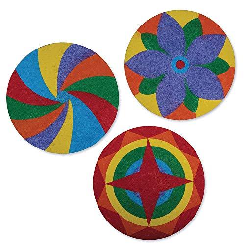 (Sand Art Mandala Craft Kit (Pack of 12))