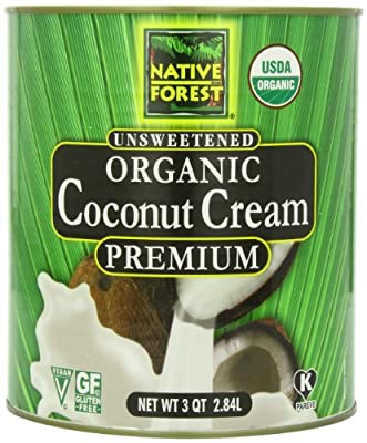 Native Forest Organic Coconut Cream, 96 Ounce from Edward & Sons