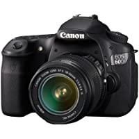 Canon EOS 60D 18 MP CMOS Digital SLR Camera with 3.0-Inch LCD & 18-55mm f/3.5-5.6 IS Zoom Lens