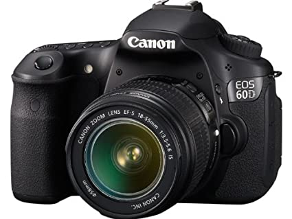 Canon EOS 60D SLR with Kit EF-S18-55mm Lens Image