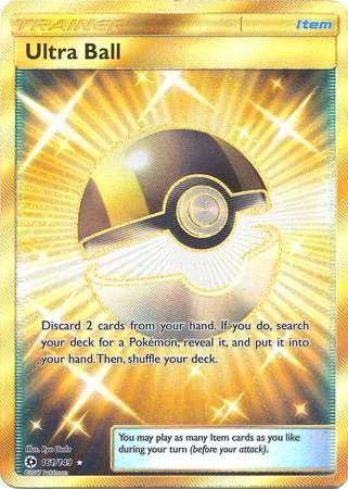 Ultra Ball - 161/149 - Secret Rare - Pokemon Sun & Moon by Pokémon
