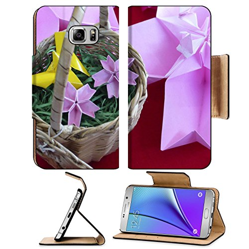 MSD Premium Samsung Galaxy Note 5 Flip Pu Leather Wallet Case Note5 IMAGE 23623306 Origami