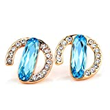 MosierBizne Crystal Eighteen Springs Earrings