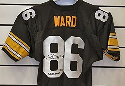 best website 7132c 7e1a0 Hines Ward Autographed Pittsburgh Steelers Jersey. at ...