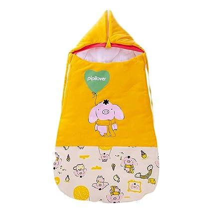 Saco de dormir para bebés, edredón Algodón de doble uso Mantener el otoño cálido y
