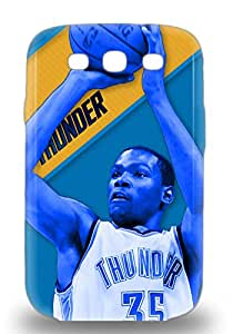 Hot NBA Oklahoma City Thunder Kevin Durant #35 First Grade Tpu Phone Case For Galaxy S3 Case Cover
