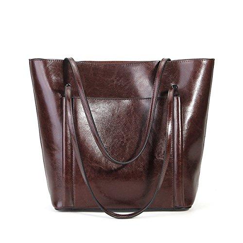 fashion épaule Sac Sac à 8955 portés en main Sac LF Café femme portés DISSA cuir main aqEP7nXt