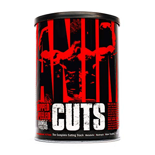 Animal Cuts – All-in-one Complete Fat Burner Supplement with Thermogenic and Metabolism Support – Energy Booster…