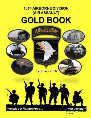 Gold United States Air (101st Airborne Division (Air Assault) Gold Book February 2016)