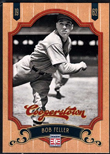 2012 Panini Cooperstown HOF #69 Bob Feller Indians (Hall of Fame Member) MLB Baseball Card NM-MT Bob Feller Mlb Baseball