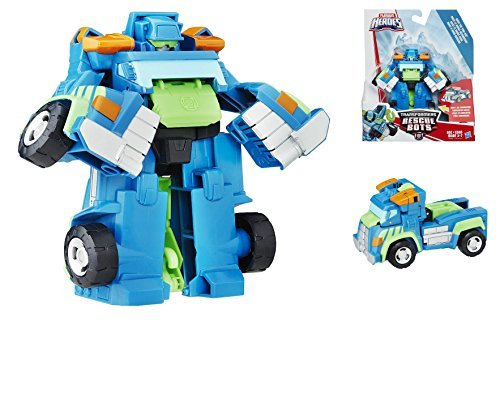 Transformers Playskool Heroes Rescue Bots - Hoist the Tow-Bot - Converts from Robot Mode to Tow Truck Mode and Back