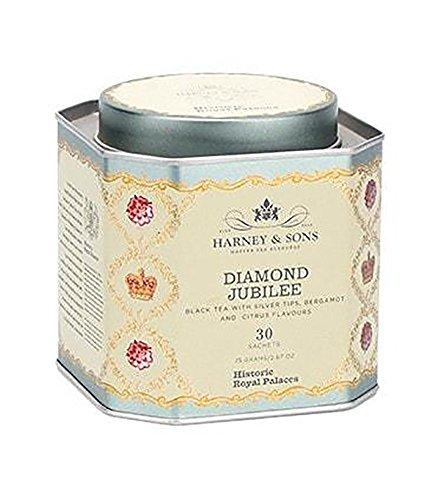Harney & Sons Diamond Jubilee Black Tea with Bergamot and Citrus Tea 30 Sachets