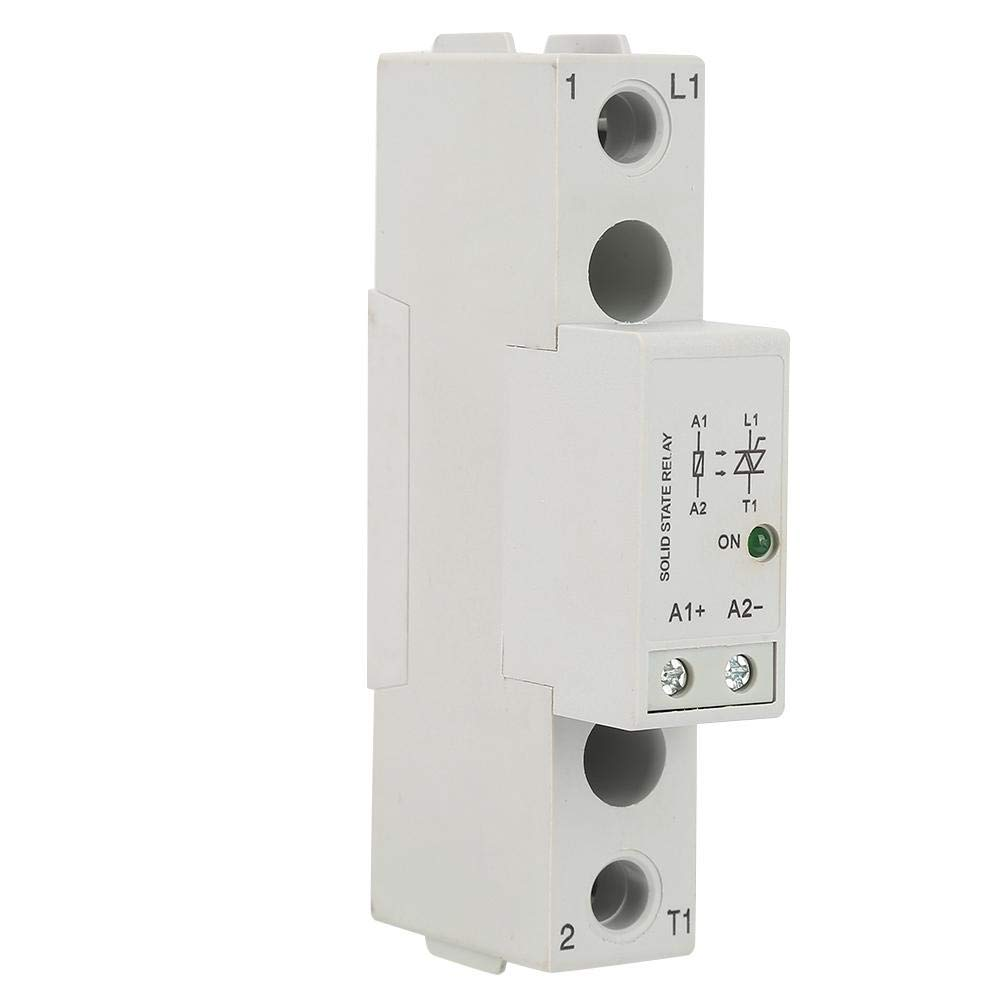 Relais à semiconducteurs Monophasé Module de commutateur de relais SSR AC de commande de SMT48 rail DIN 10A / 25A / 40A / 60A / 80A(25A)