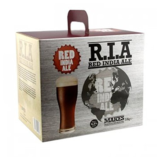 Home Brew Beer Kit - Young's American Red India Ale - 30 pints Youngs