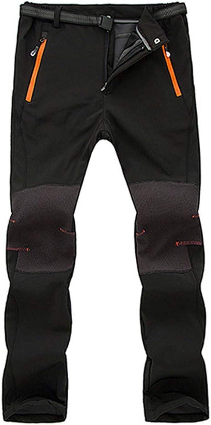 Pantalones para Hombre, Hombres Impermeables a Prueba de Viento al ...
