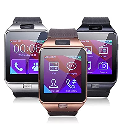 ELEGIANT Z20 Clock SmartWatch Bluetooth Touch Screen Watch Bracelet Mini Smartphone With multifunction Photography GPS Music player video player pedometer, sleep monitoring Anti-Loss System For Android Samsung Sony Nokia HTC Huawei LG Top Smartphone with