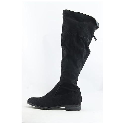 70097ee086b2 Unisa Womens Subrina Fabric Almond Toe Knee High Fashion Boots ...