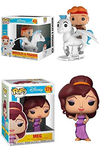 Funko POP! Hercules: Hercules & Pegasus + Meg – Stylized Vinyl Figure Set NEW