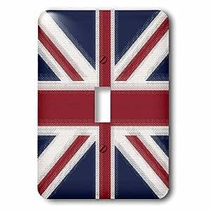 3dRose LLC lsp_60594_1 Union Jack UK, Single Toggle Switch
