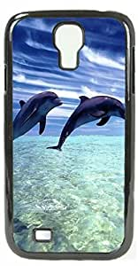 HeartCase Hard Case for Samsung Galaxy S4 I9500 I9508 I959 ( Dolphins )