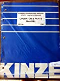 Kinze 40 Series Grain Auger Wagons Utility Tracked Chassis Manual