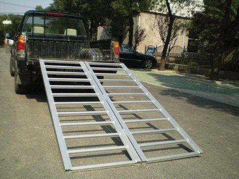 Ramps 6'X48'' Bi-Fold Aluminum Ramp 1200 Lb Ar16