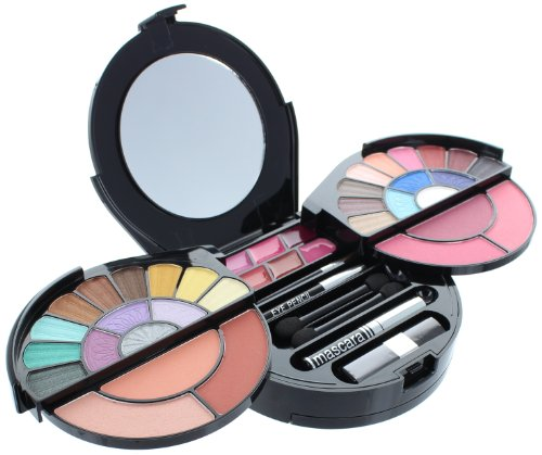 Br Makeup Kit - BR deluxe makeup palette (64 colors) - extra pearl shine