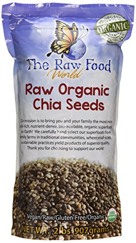 Certified Organic Chia Seeds 2 Pounds