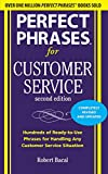 img - for Perfect Phrases for Customer Service, Second Edition (Perfect Phrases Series) book / textbook / text book