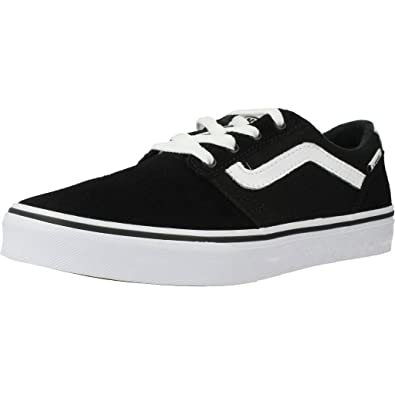 8dfa1b7f6183 Vans Boys  Chapman Stripe Trainers  Amazon.co.uk  Shoes   Bags