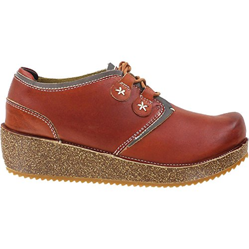 Spring Step Artiste Womens Jaguar Oxford Kameel