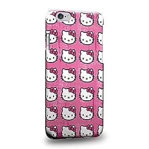 """Case88 Premium Designs Hello Kitty Collection 0624 Carcasa/Funda dura para el Apple iPhone 6 4.7"""" (No Plus 5.5"""" !)"""