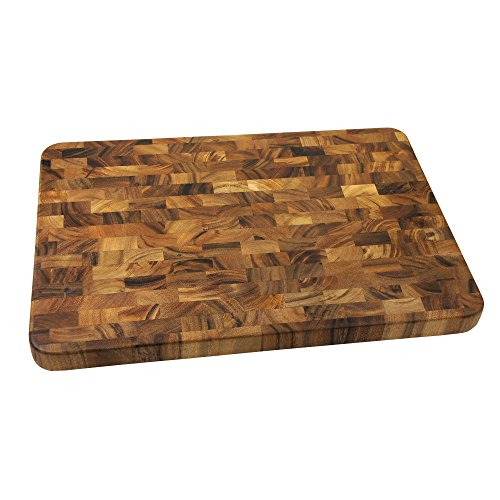 Ironwood Gourmet 28217 Large End Grain Prep Station, Acacia Wood