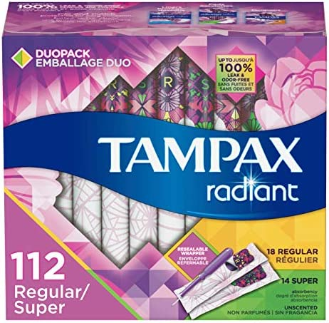 Tampax Radiant Absorbency Multipack Unscented product image