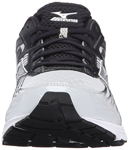 Quiet Men's Shade Mizuno Running Shoe Wave Sayonara 4 Silver Black FgBYqd