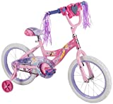 Disney Princess 16-inch Girls' Bike by Huffy, Ideal for Ages 4-6 & Rider...