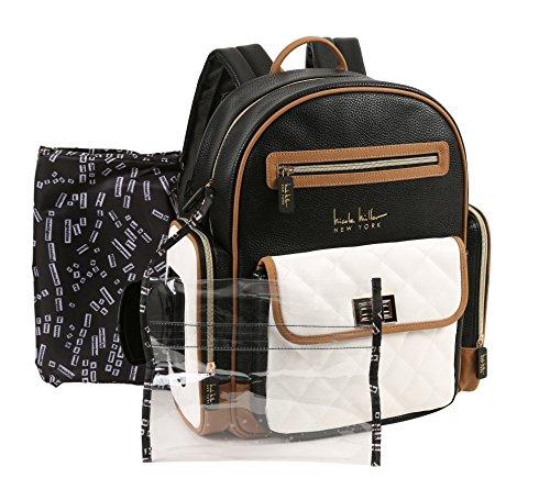 Nicole Miller New York Multi Piece Backpack Diaper Bag