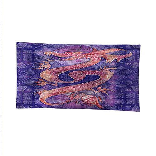 Dragonocean tapestrylarge tapestryChinese Figure Yin Yang 72W x 54L - Figure Yin