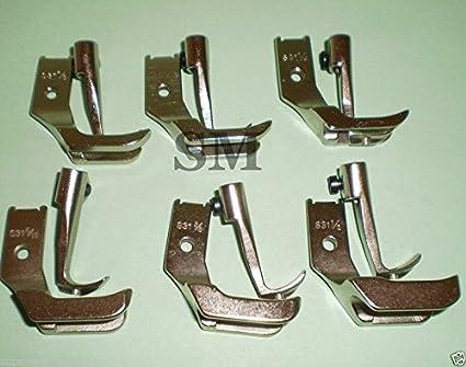 Juki Sewing Machine Welting Feet Set