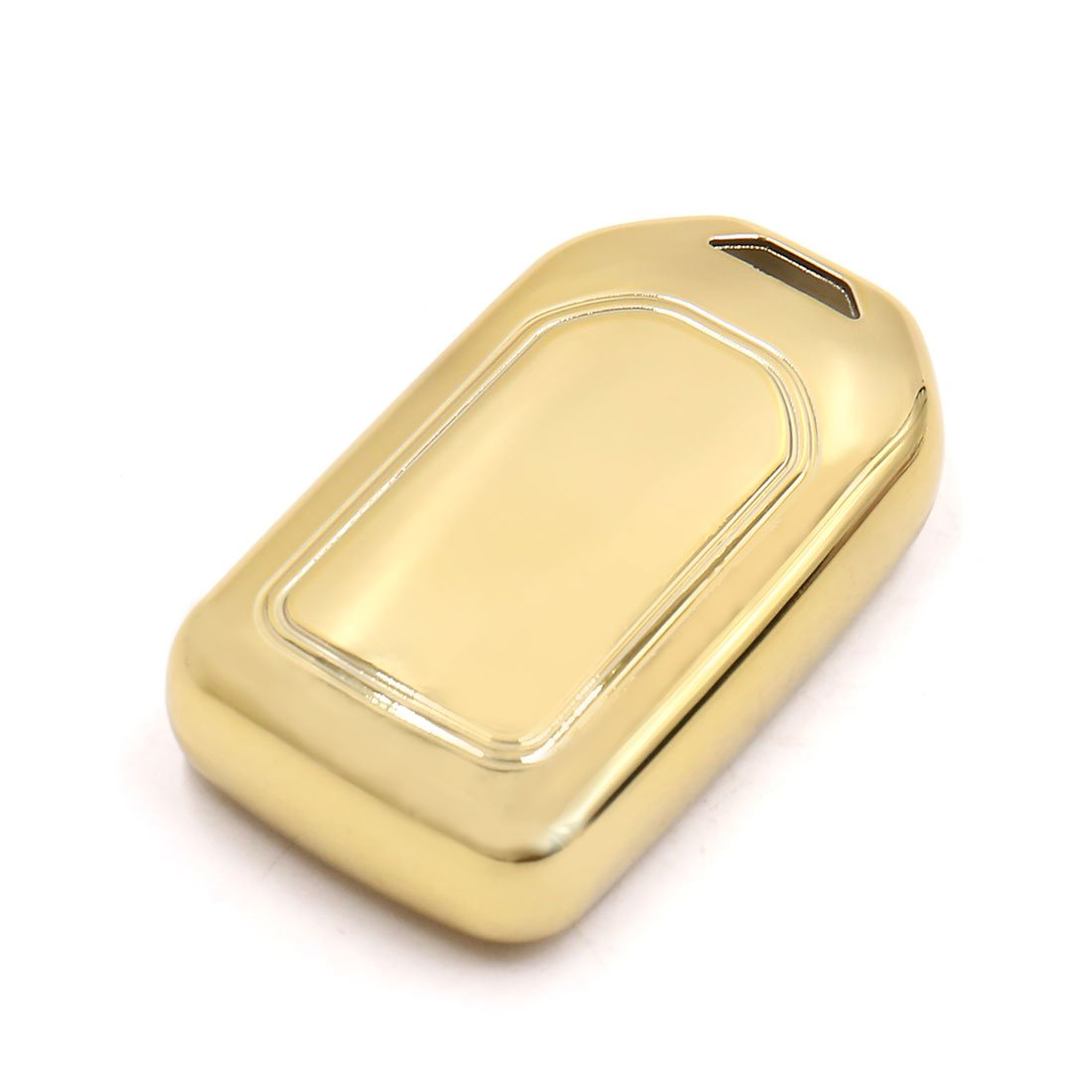uxcell Gold Tone Remote Key Case Holder Shell Protect Cover Fit For Honda AVANCIER