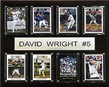 MLB David Wright New York Mets 8 Card Plaque