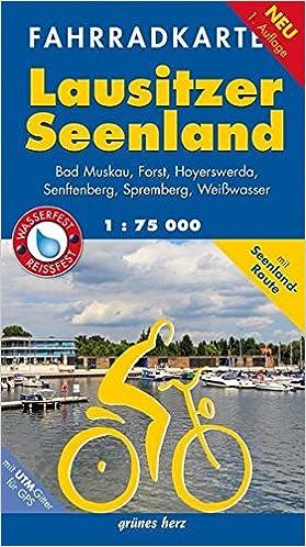 f785b969e909e Fahrradkarte Lausitzer Seenland  Mit Bad Muskau