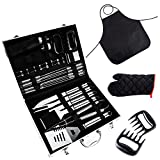 BBQ Tools Set, 31-Piece Grill Tools set, Heavy Review and Comparison