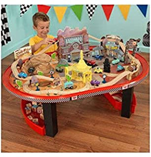 Disney Pixar Cars Track Table And Ottoman Toys Games