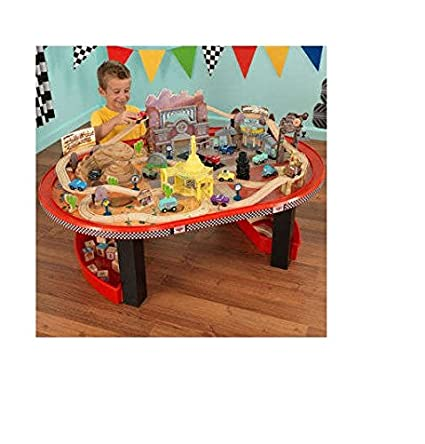 KidKraft Disney Cars Radiator Springs Race track Set and Table  sc 1 st  Amazon.com & Amazon.com: KidKraft Disney Cars Radiator Springs Race track Set and ...