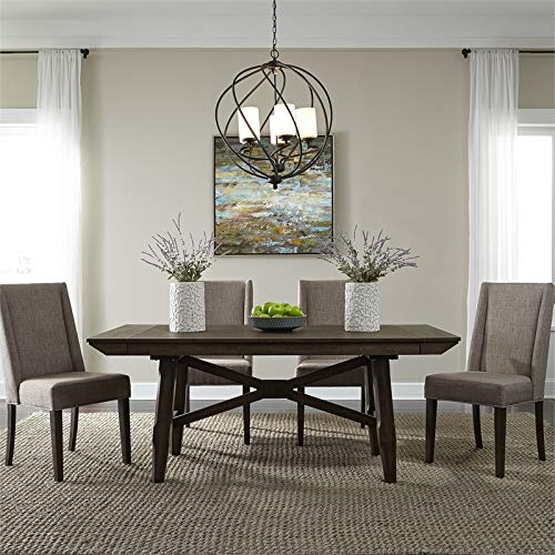 - Liberty Furniture Opt 5 Piece Trestle Table Set