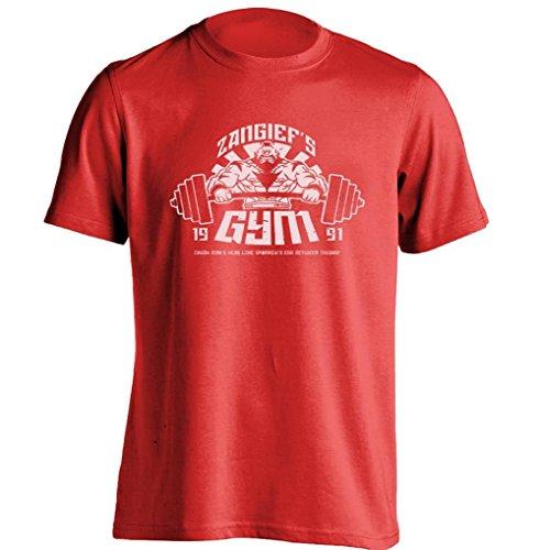 Zangiefs Gym Street Fighter Mens & Womens Design T Shirt Printing T Shirt