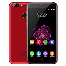 4G Phablet Smart Mobile Cell Phone 5.5 inch IPS Screen Android 6.0 MTK6737T Quad Core 1.5GHz Cameras Fingerprint Sensor Only to work with the current Android/Windows OS installed in it Dual nano SIM