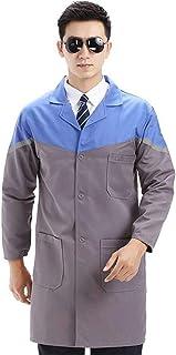QZHE Abbigliamento medico Abbigliamento Medico da Laboratorio A Manica Lunga Uniforme da Laboratorio